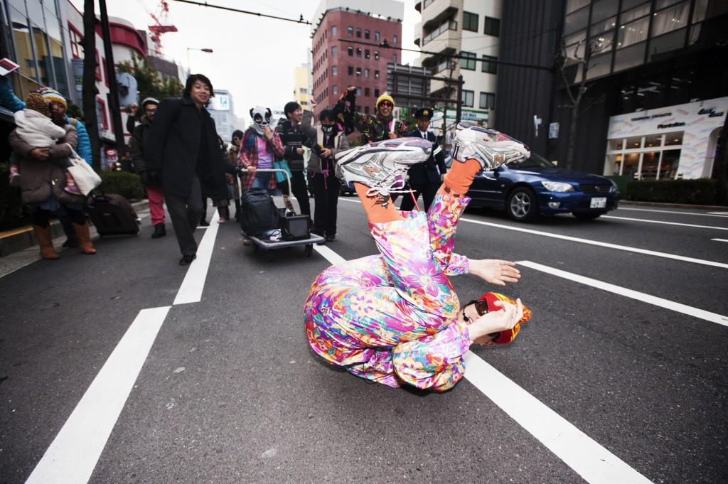 Yamagata Tweakster大阪デモ写真