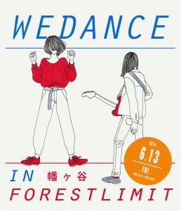 Wedance in forestlimit flyer